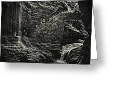 Stairway In The Glen Greeting Card