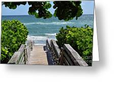 Stairway To Haven Greeting Card