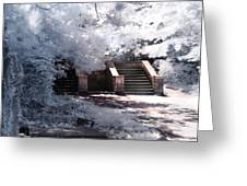 Stairway To Heaven Greeting Card by Helga Novelli