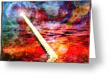 Stairway To Heaven Greeting Card by RP Callahan