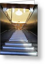 Stairway To Knowledge Greeting Card