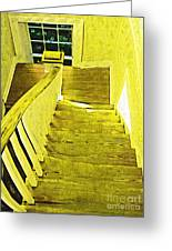 Stairway To No Where Greeting Card