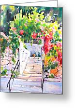 Stairway To Paradise Greeting Card