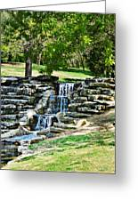 Stairway To Water Greeting Card