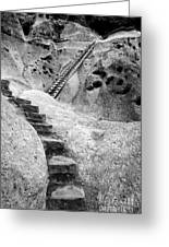 Stairways To The Kiva Greeting Card