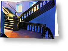 Stairwell Of Color Greeting Card
