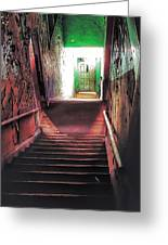 Stairwell Greeting Card