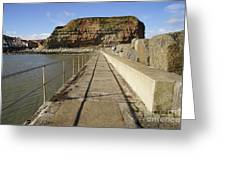 Staithes Greeting Card