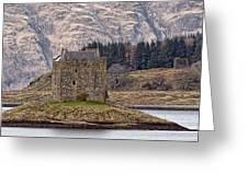 Stalker Castle Greeting Card