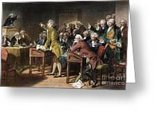 Stamp Act: Patrick Henry Greeting Card