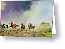Stampede Greeting Card