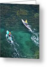 Stand Up Paddlers II Greeting Card