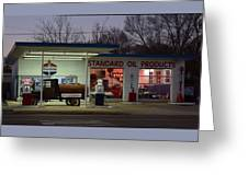 Standard Oil Museum After Dark 18 Greeting Card