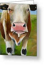 Standing In Field Greeting Card