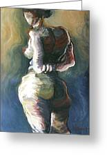 Standing Nude I Greeting Card