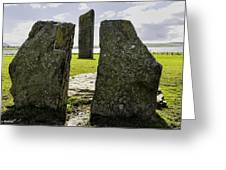 Standing Stones Of Stenness Greeting Card