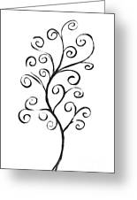 Standing Tall - Inverted  Greeting Card