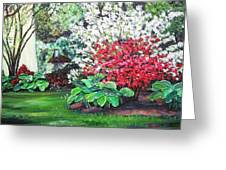 Stanely Park Blossoms Greeting Card