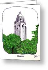 Stanford Greeting Card by Frederic Kohli
