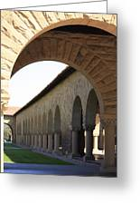 Stanford Memorial Court Arches I Greeting Card
