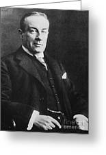 Stanley Baldwin, English Politician Greeting Card by Photo Researchers