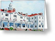 Stanley Hotel Two Greeting Card