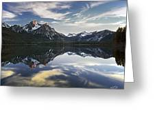 Stanley Lake Greeting Card