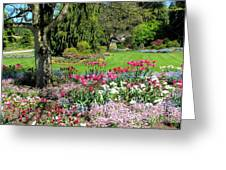 Stanley Park Garden Greeting Card