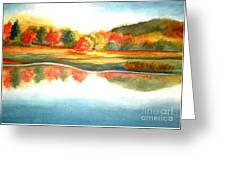 Stanley Park In The Fall Greeting Card