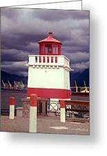 Stanley Park Lighthouse Greeting Card