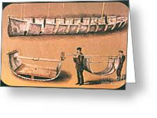 Stanleys Portable Boat Greeting Card