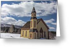 Stannard Church Greeting Card