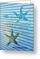 Star Bright Quote Greeting Card