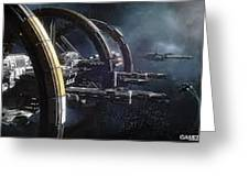 Star Citizen Enlistment - Join Free Today Greeting Card