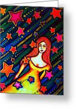 Star Crossed Greeting Card
