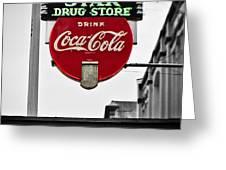 Star Drug Store Greeting Card