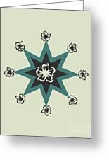 Star Flower - The Light Side Greeting Card