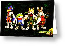 Star Fox Zero Greeting Card