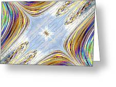 Star Galaxy Central Greeting Card