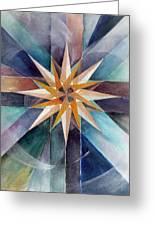 Star Mandala 2  Greeting Card