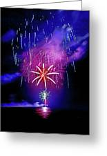 Star Of The Night Greeting Card