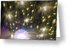 Star Particles Greeting Card