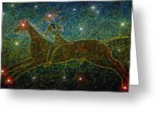 Star Rider Greeting Card by David Lee Thompson