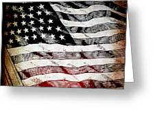Star Spangled Banner Greeting Card