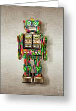 Star Strider Robot Psyc Greeting Card