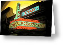 Star Theater Greeting Card
