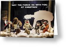 Star Wars Christmas Card Greeting Card