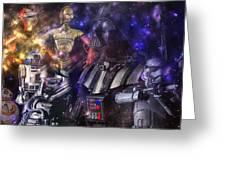 Star Wars Compilation Greeting Card
