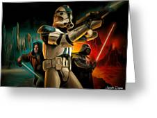 Star Wars Fighters Greeting Card
