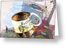 Starbucks Mug Nashville Greeting Card